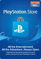 PS4 - $100 USD PlayStation Gift Card